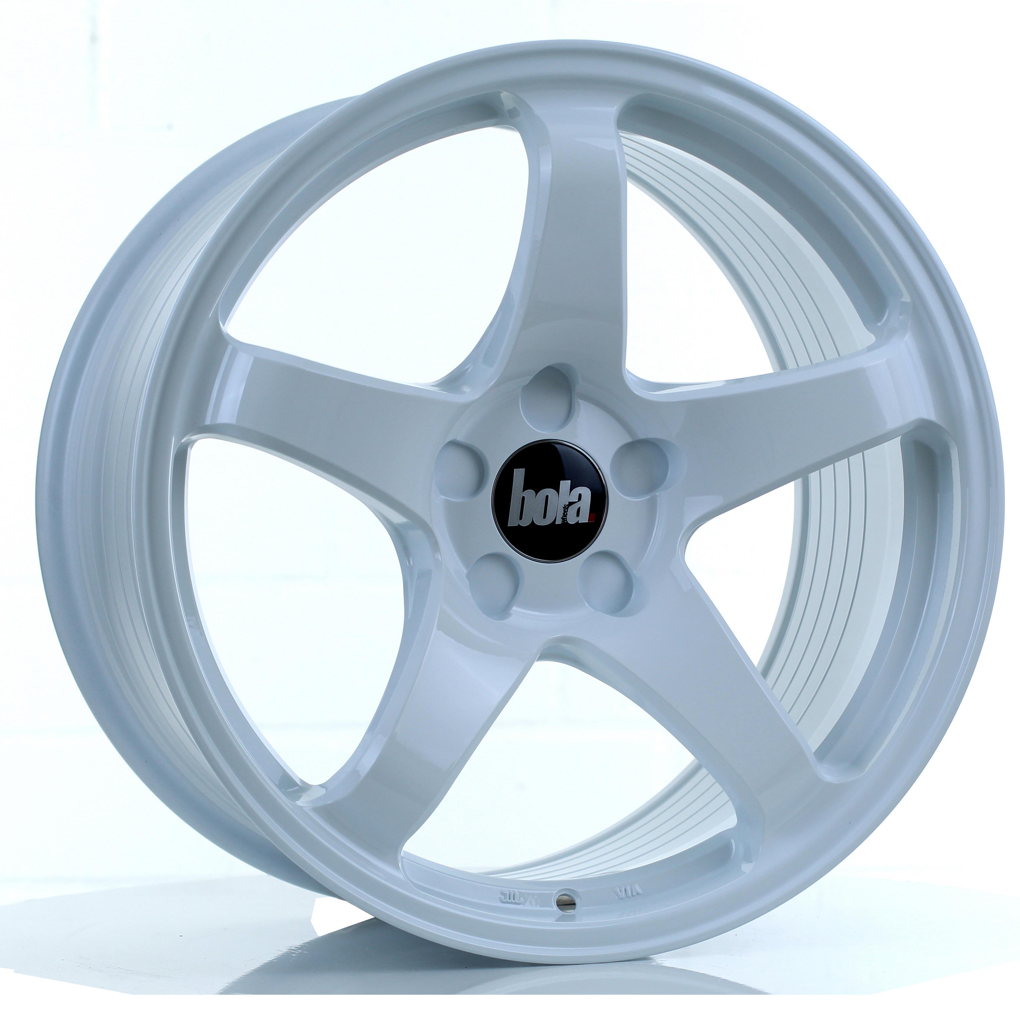 BOLA B2R hliníkové disky 9,5x18 5x118 ET30 DO 45 WHITE