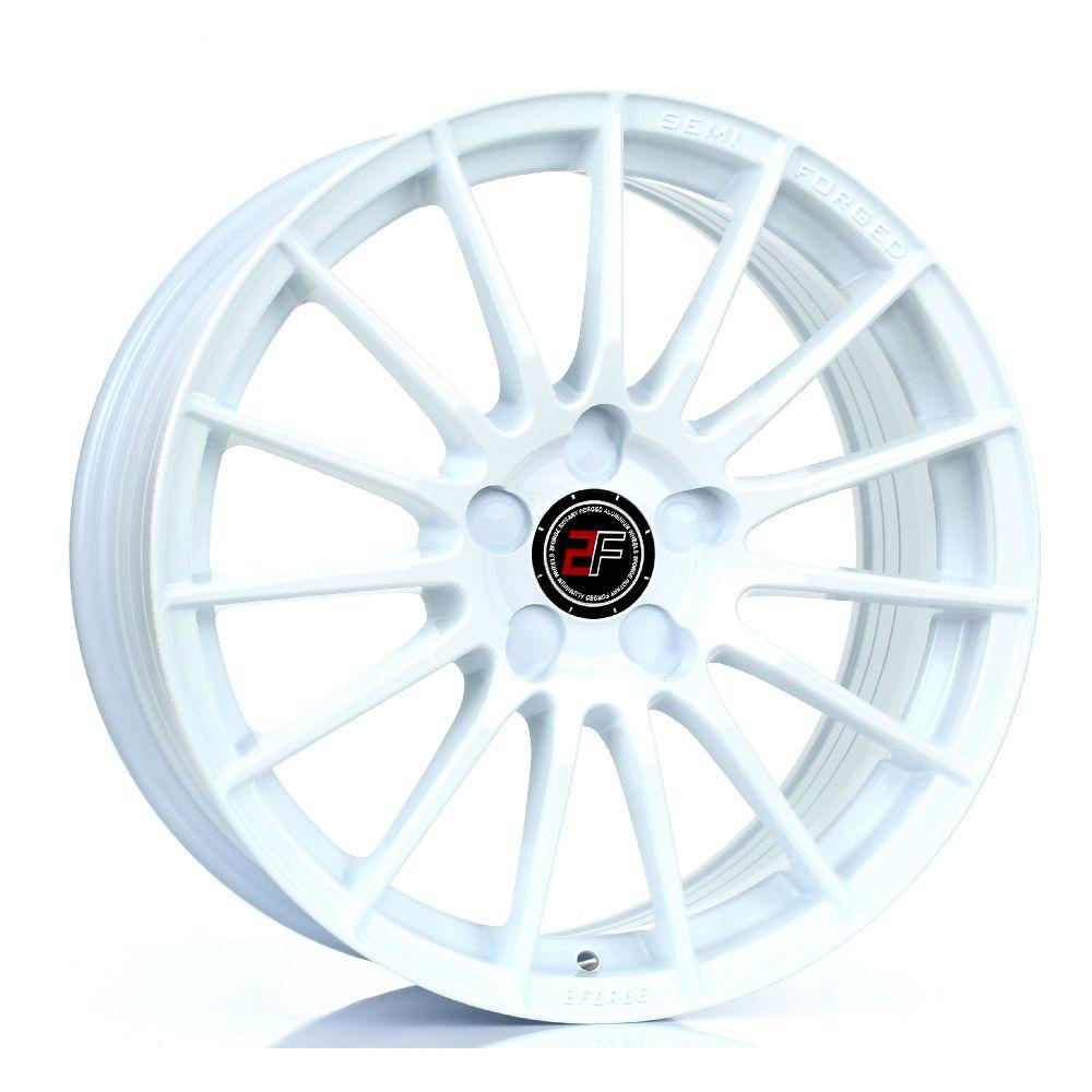 2FORGE ZF1 hliníkové disky 7,5x17 5x118 ET10 DO 51 WHITE