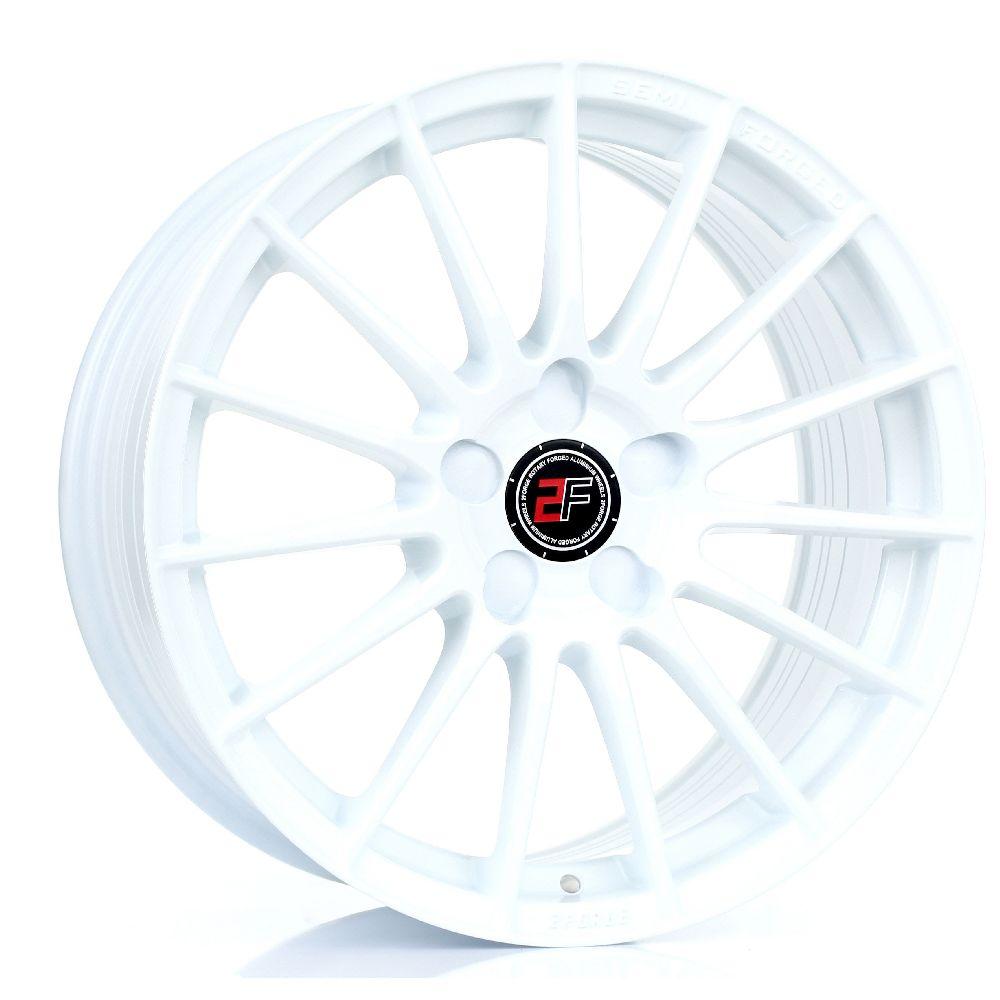 2FORGE ZF1 hliníkové disky 8x17 5x100 ET10 DO 58 WHITE