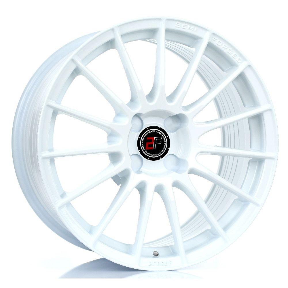 2FORGE ZF1 hliníkové disky 9x17 4x100 ET10 DO 50 WHITE