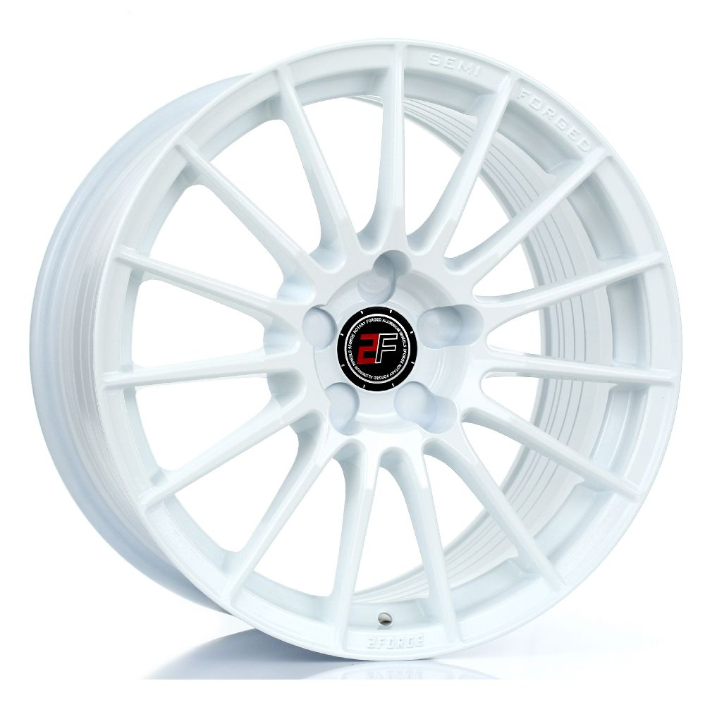 2FORGE ZF1 hliníkové disky 9x17 5x118 ET10 DO 50 WHITE
