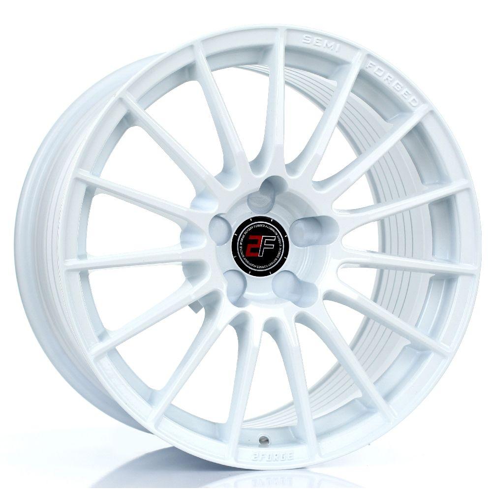 2FORGE ZF1 hliníkové disky 9,5x17 5x115 ET0 DO 45 WHITE