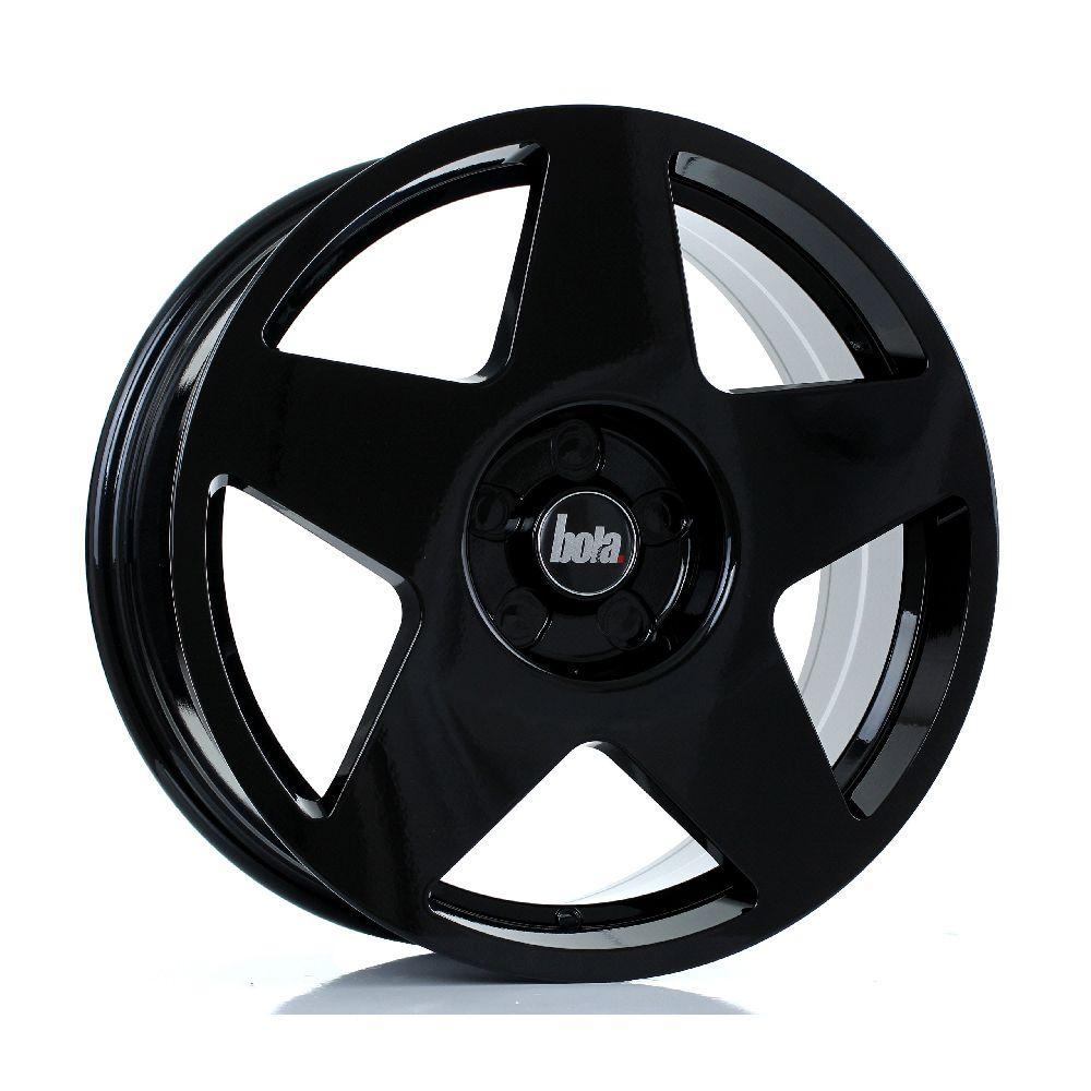 BOLA B10 hliníkové disky 8x18 5x112 ET30 DO 45 GLOSS BLACK