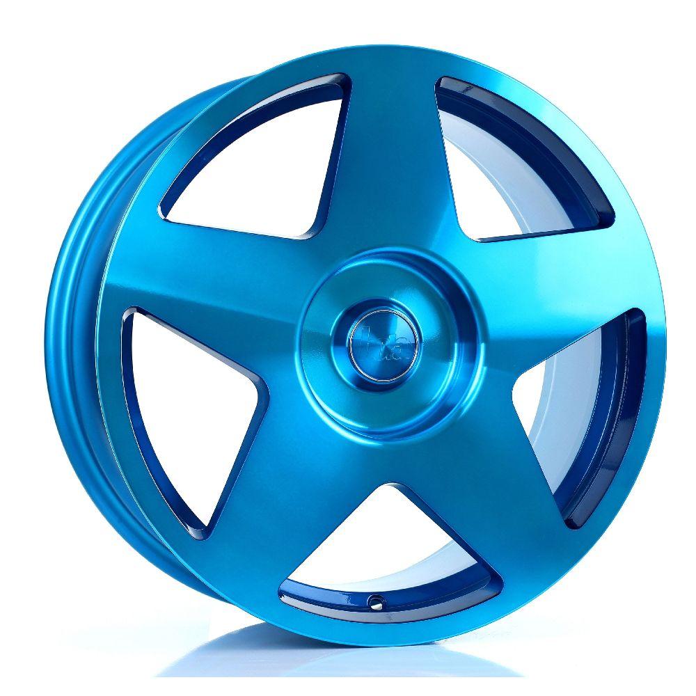 BOLA B10 hliníkové disky 8x18 5x115 ET30 DO 45 HYPER BLUE