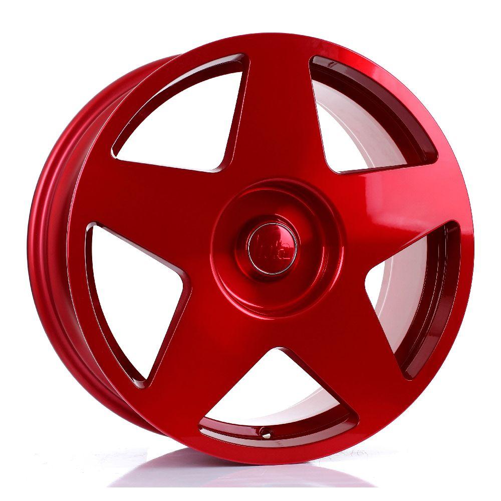 BOLA B10 hliníkové disky 8x18 5x98 ET30 DO 45 HYPER RED