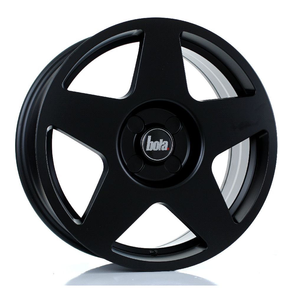BOLA B10 hliníkové disky 7,5x17 5x100 ET40 DO 45 MATT BLACK