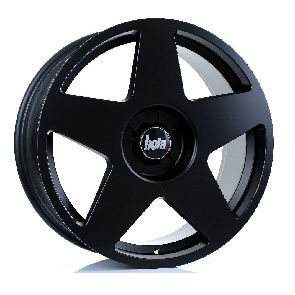 BOLA B10 hliníkové disky 8,5x19 5x120 ET25 DO 45 MATT BLACK
