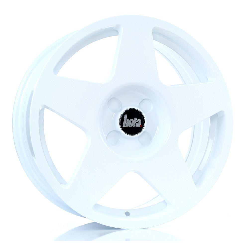 BOLA B10 hliníkové disky 7,5x17 5x112 ET40 DO 45 WHITE