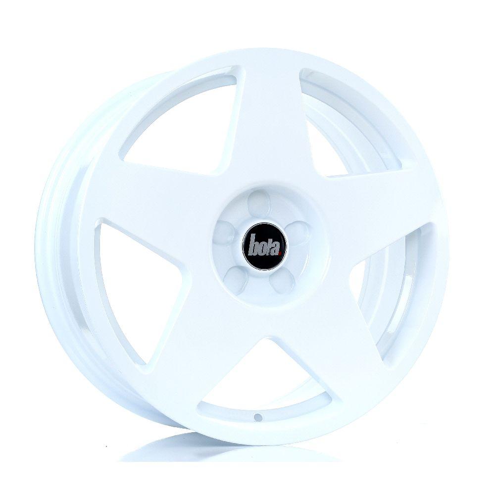 BOLA B10 hliníkové disky 8x18 5x118 ET40 DO 45 WHITE