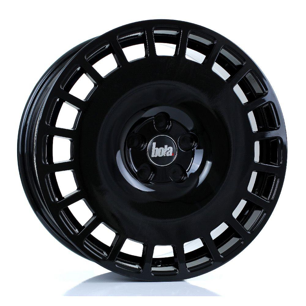 BOLA B12 hliníkové disky 8x18 5x98 ET30 DO 45 GLOSS BLACK