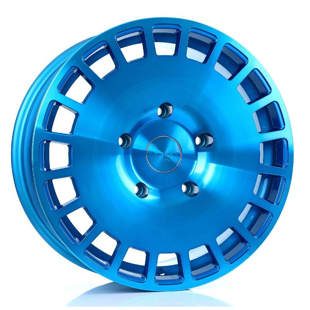 BOLA B12 hliníkové disky 8x18 5x100 ET40 DO 45 HYPER BLUE