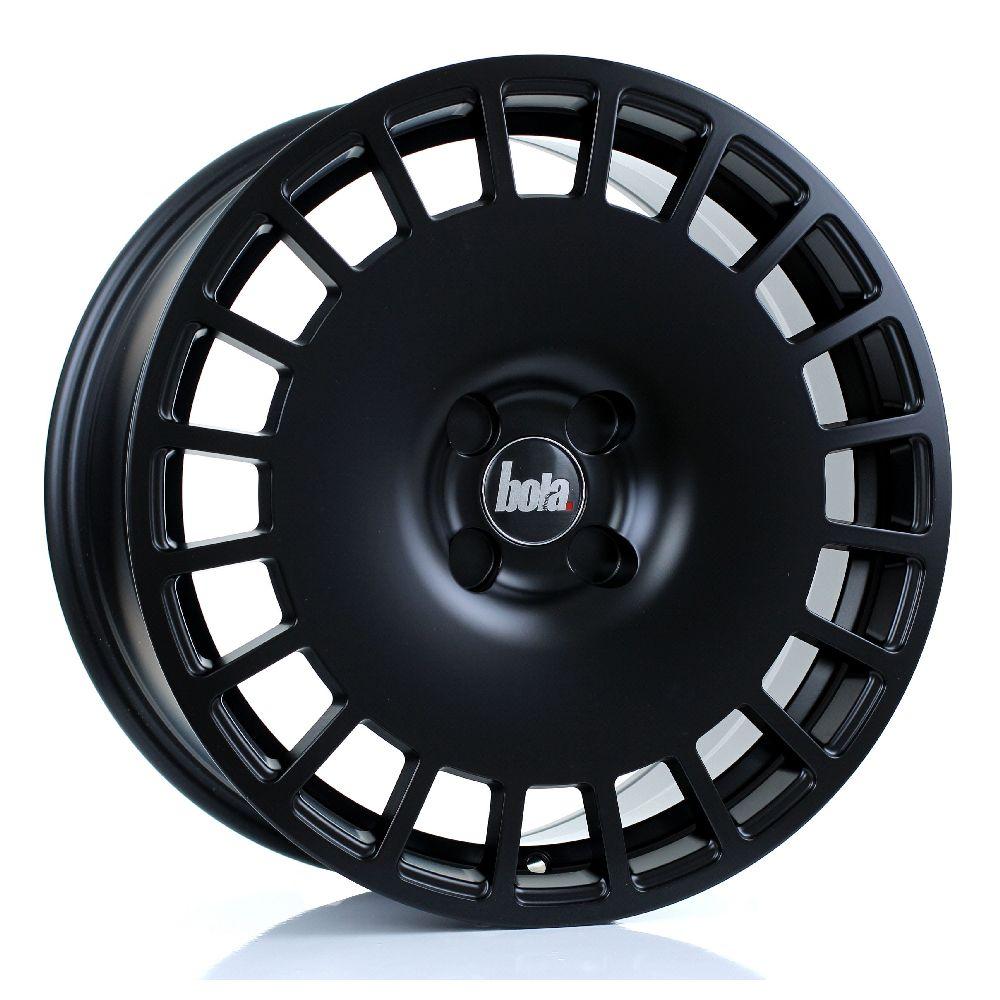 BOLA B12 hliníkové disky 8x17 4x108 ET30 DO 45 MATT BLACK