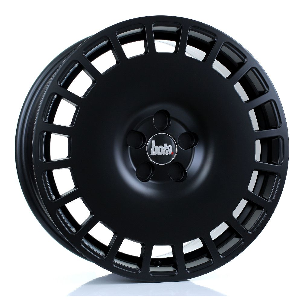 BOLA B12 hliníkové disky 8x18 5x112 ET30 DO 45 MATT BLACK
