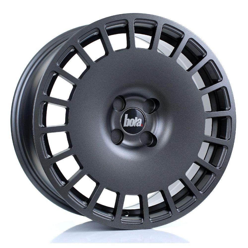 BOLA B12 hliníkové disky 8x17 5x105 ET30 DO 45 MATT GUNMETAL