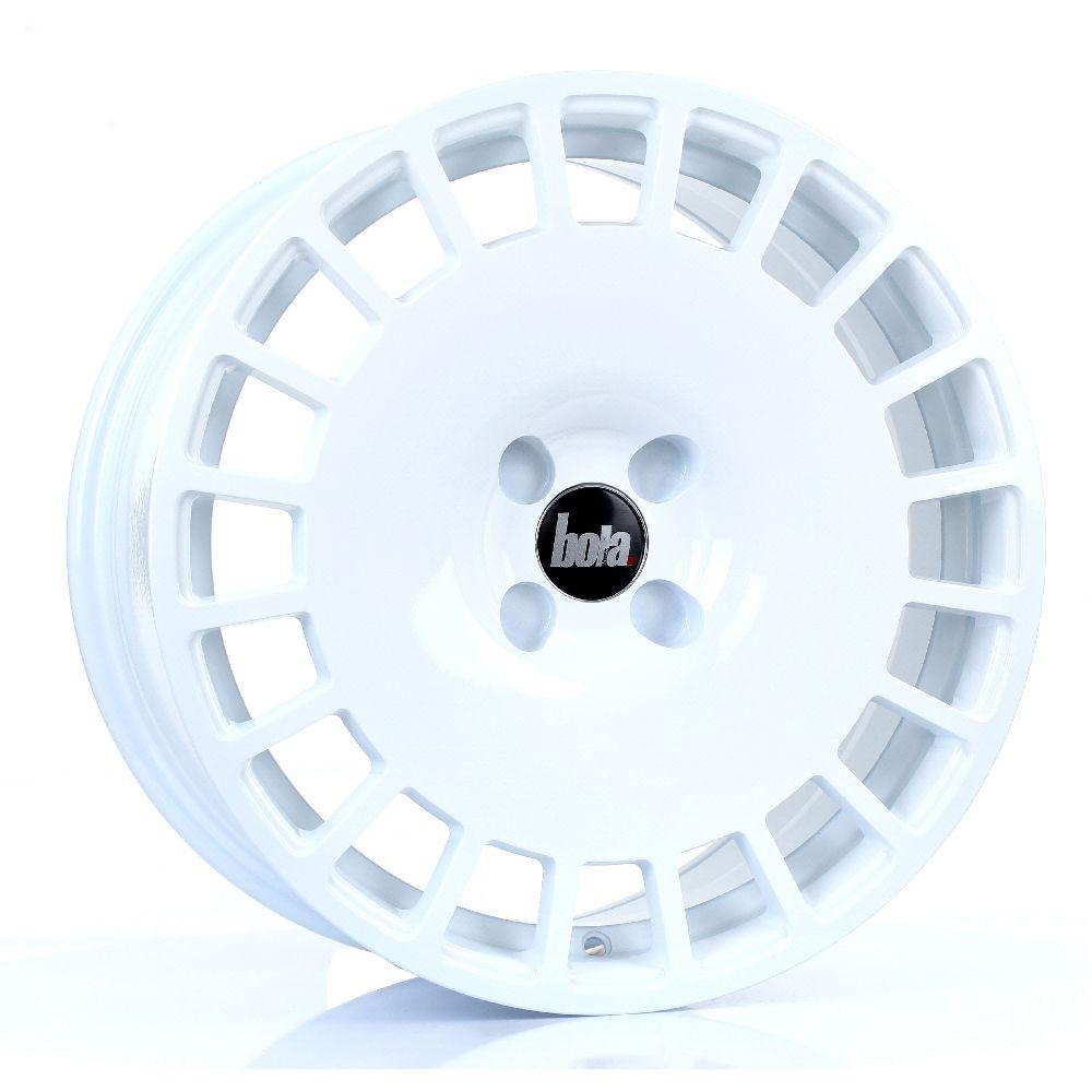BOLA B12 hliníkové disky 8x17 4x108 ET30 DO 45 WHITE