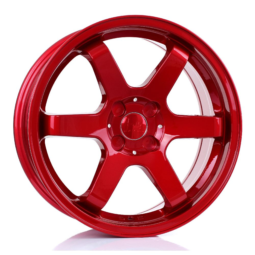 BOLA B1 hliníkové disky 7,5x17 4x114,3 ET40 DO 45 CANDY RED
