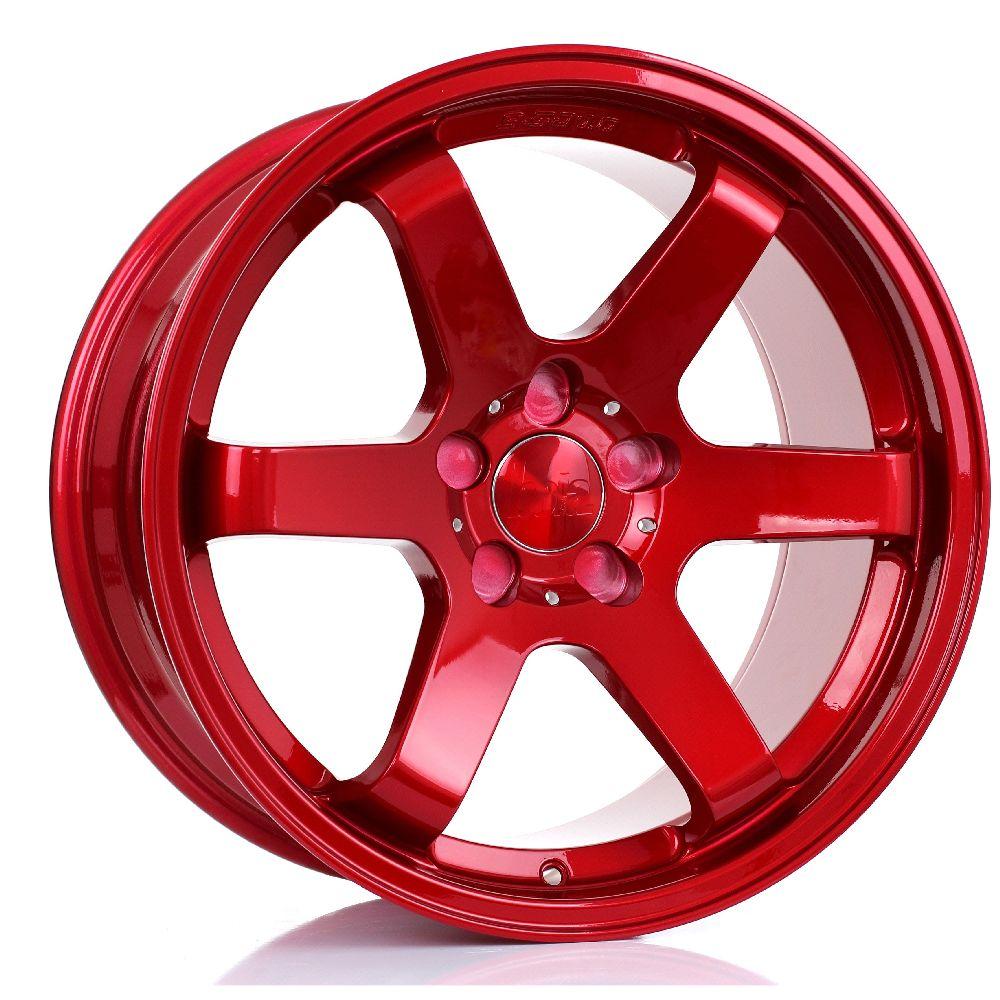 BOLA B1 hliníkové disky 9,5x18 5x114,3 ET30 DO 45 CANDY RED