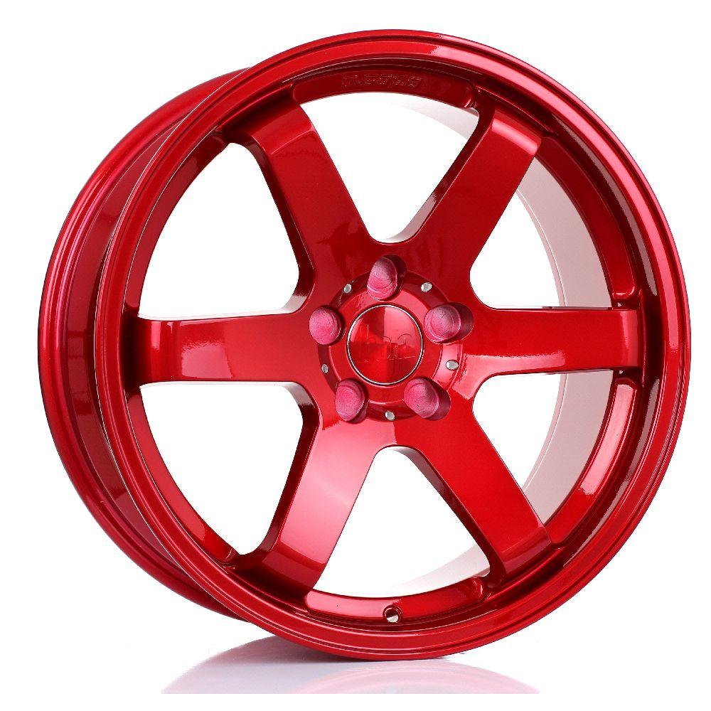 BOLA B1 hliníkové disky 8,5x19 5x105 ET30 DO 45 CANDY RED