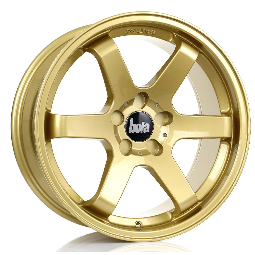 BOLA B1 hliníkové disky 8,5x18 5x118 ET35 DO 45 GOLD