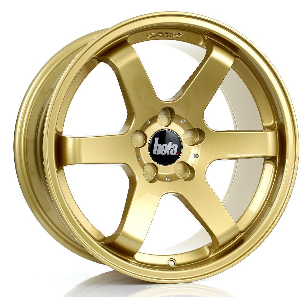 BOLA B1 hliníkové disky 9,5x18 5x114,3 ET30 DO 45 GOLD
