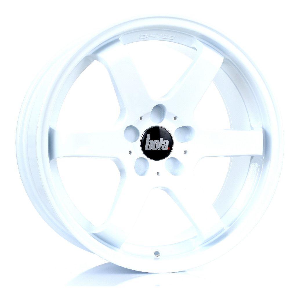 BOLA B1 hliníkové disky 8,5x18 5x114,3 ET35 DO 45 WHITE