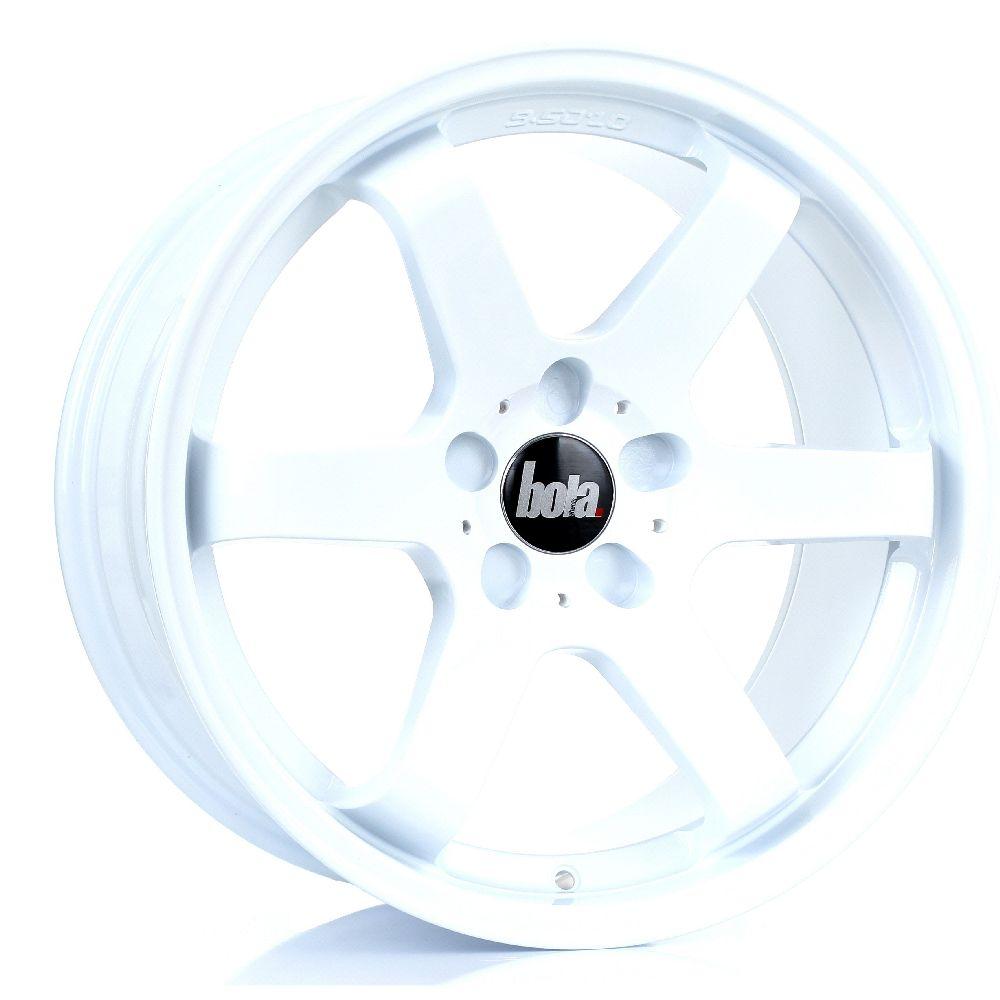 BOLA B1 hliníkové disky 9,5x18 5x115 ET35 DO 45 WHITE