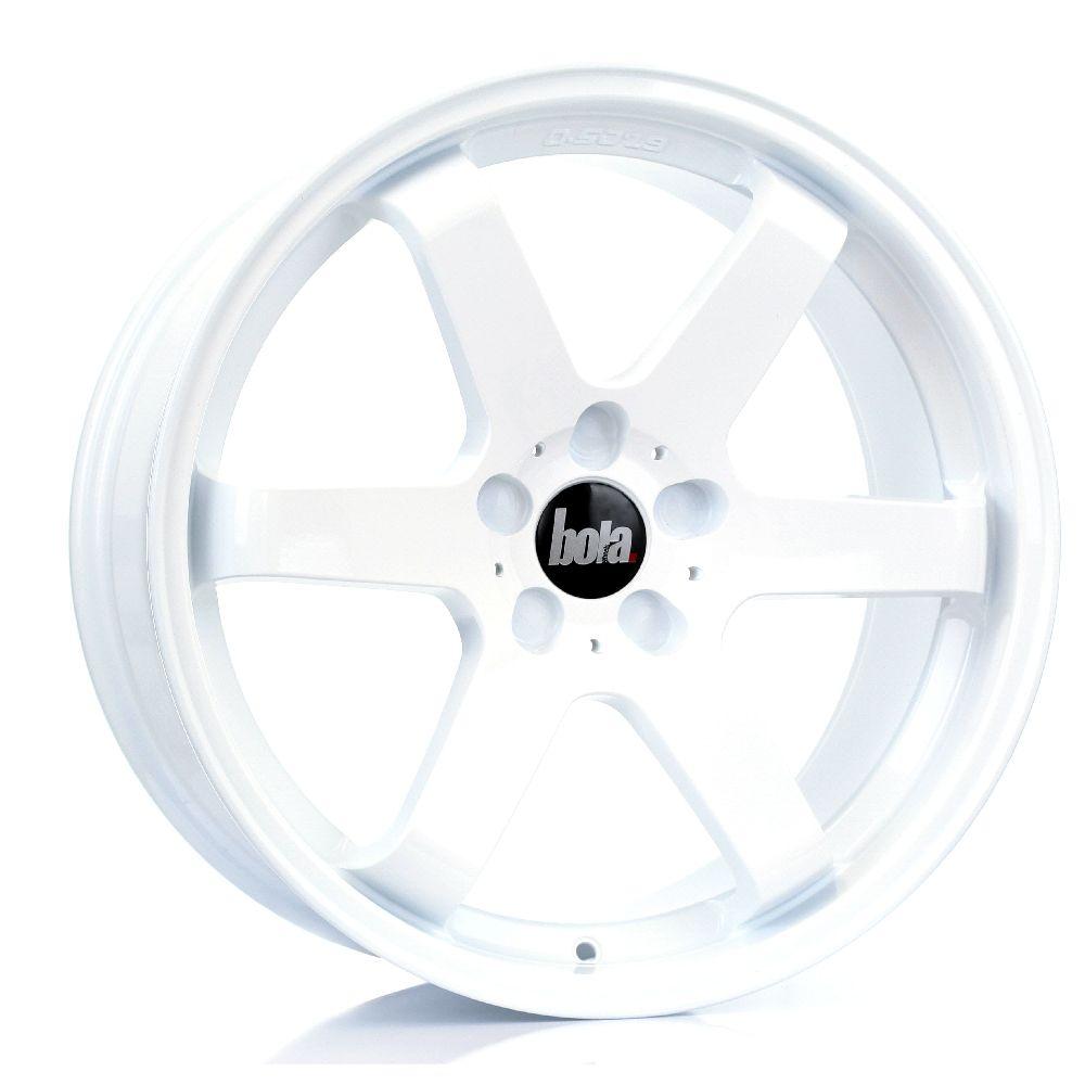 BOLA B1 hliníkové disky 8,5x19 5x130 ET30 DO 45 WHITE