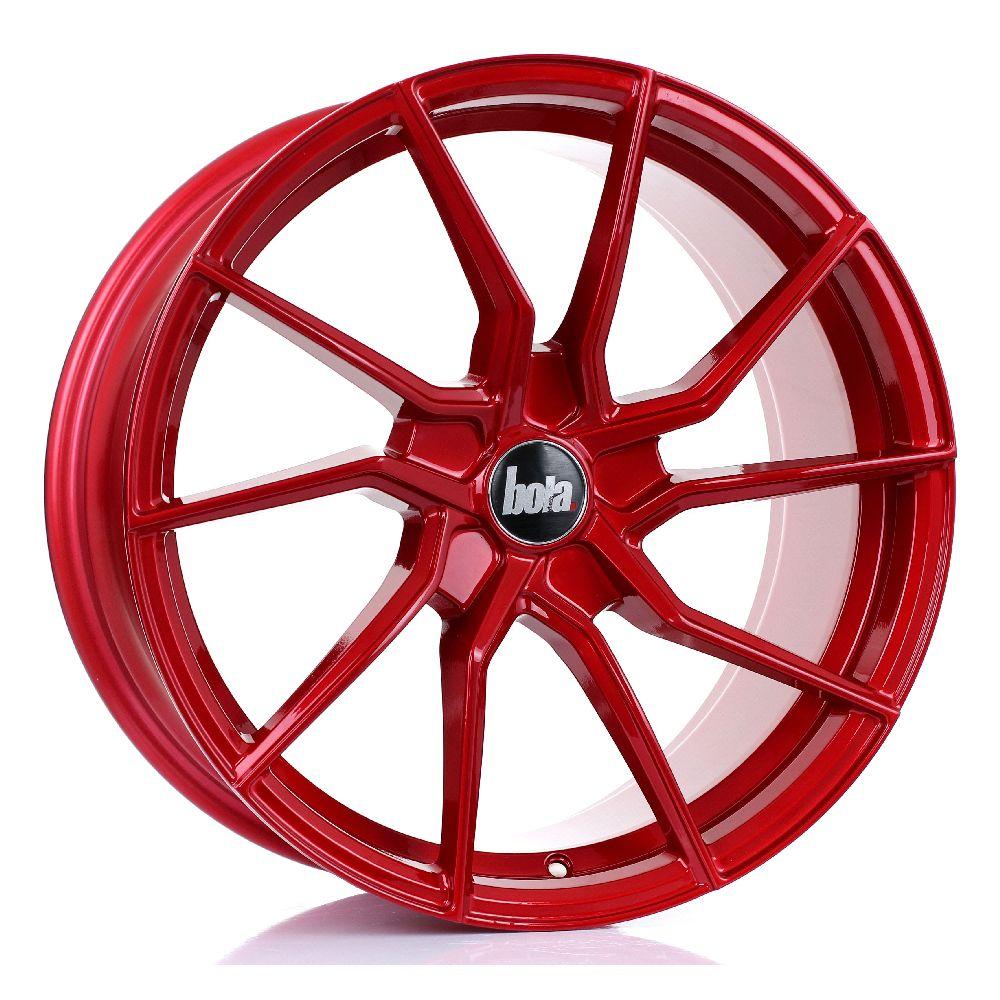 BOLA B25 hliníkové disky 8,5x18 5x118 ET25 DO 45 CANDY RED