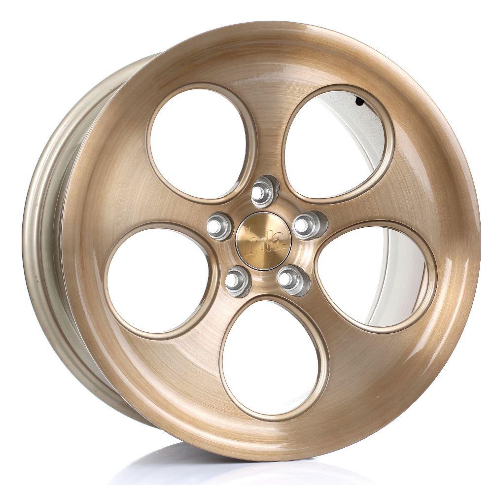 BOLA B5 hliníkové disky 8,5x18 5x115 ET40 DO 45 BRONZE BRUSHED POLISHED FACE