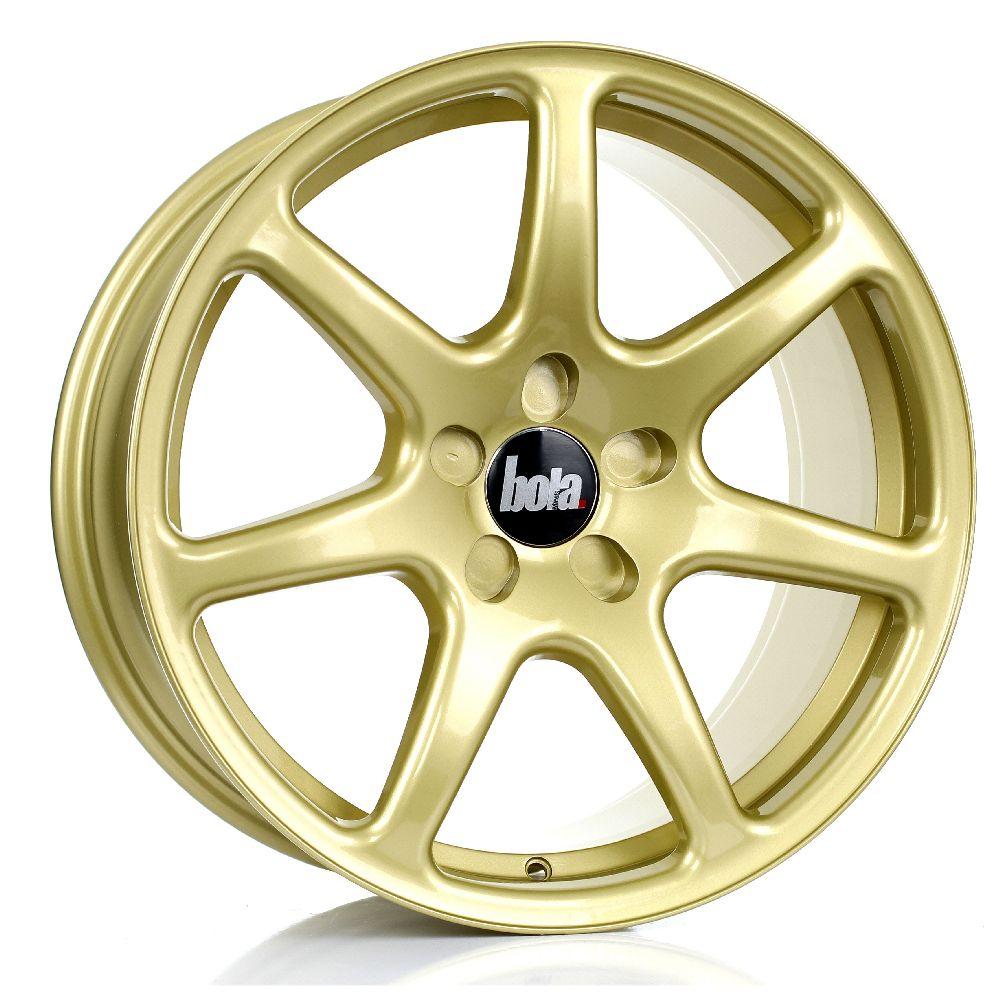 BOLA B7 hliníkové disky 8,5x18 5x114,3 ET25 DO 45 GOLD