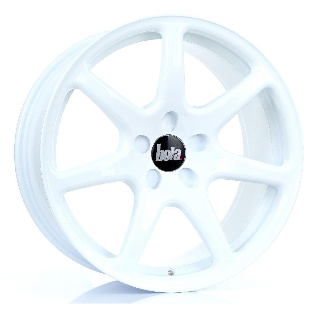 BOLA B7 hliníkové disky 8,5x18 5x108 ET25 DO 45 WHITE