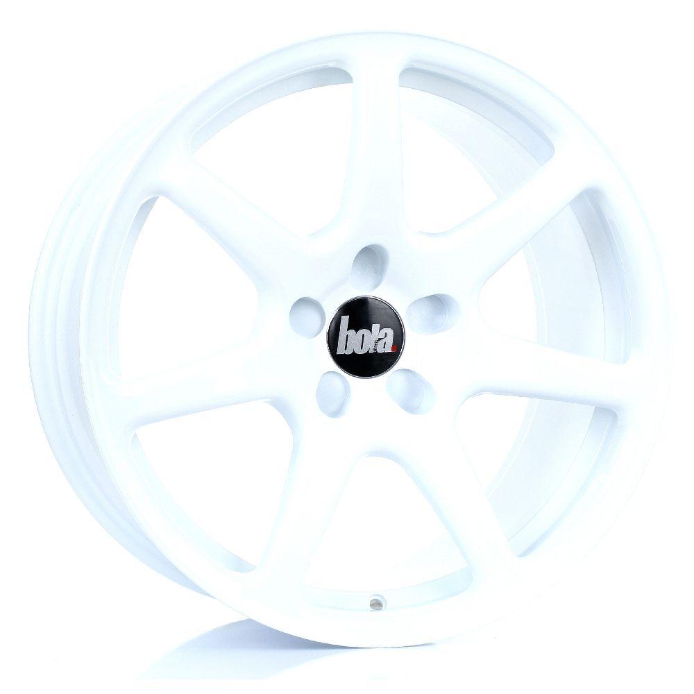 BOLA B7 hliníkové disky 9,5x18 5x98 ET25 DO 45 WHITE