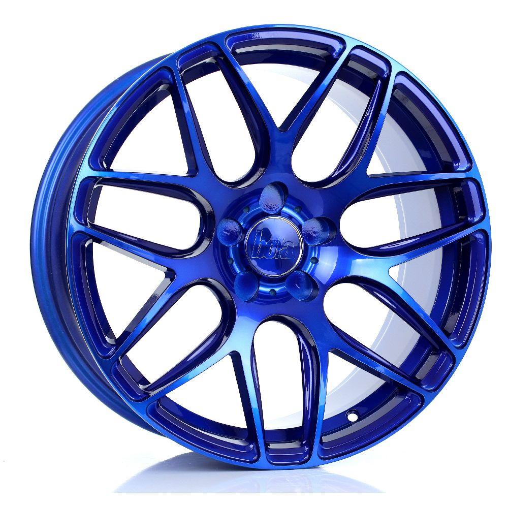 BOLA B8R hliníkové disky 8,5x18 5x110 ET25 DO 45 CANDY BLUE