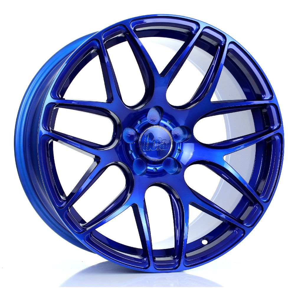 BOLA B8R hliníkové disky 9,5x18 5x120 ET40 DO 45 CANDY BLUE