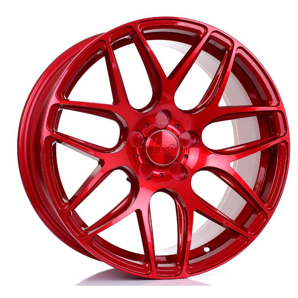 BOLA B8R hliníkové disky 8,5x18 5x98 ET25 DO 45 CANDY RED
