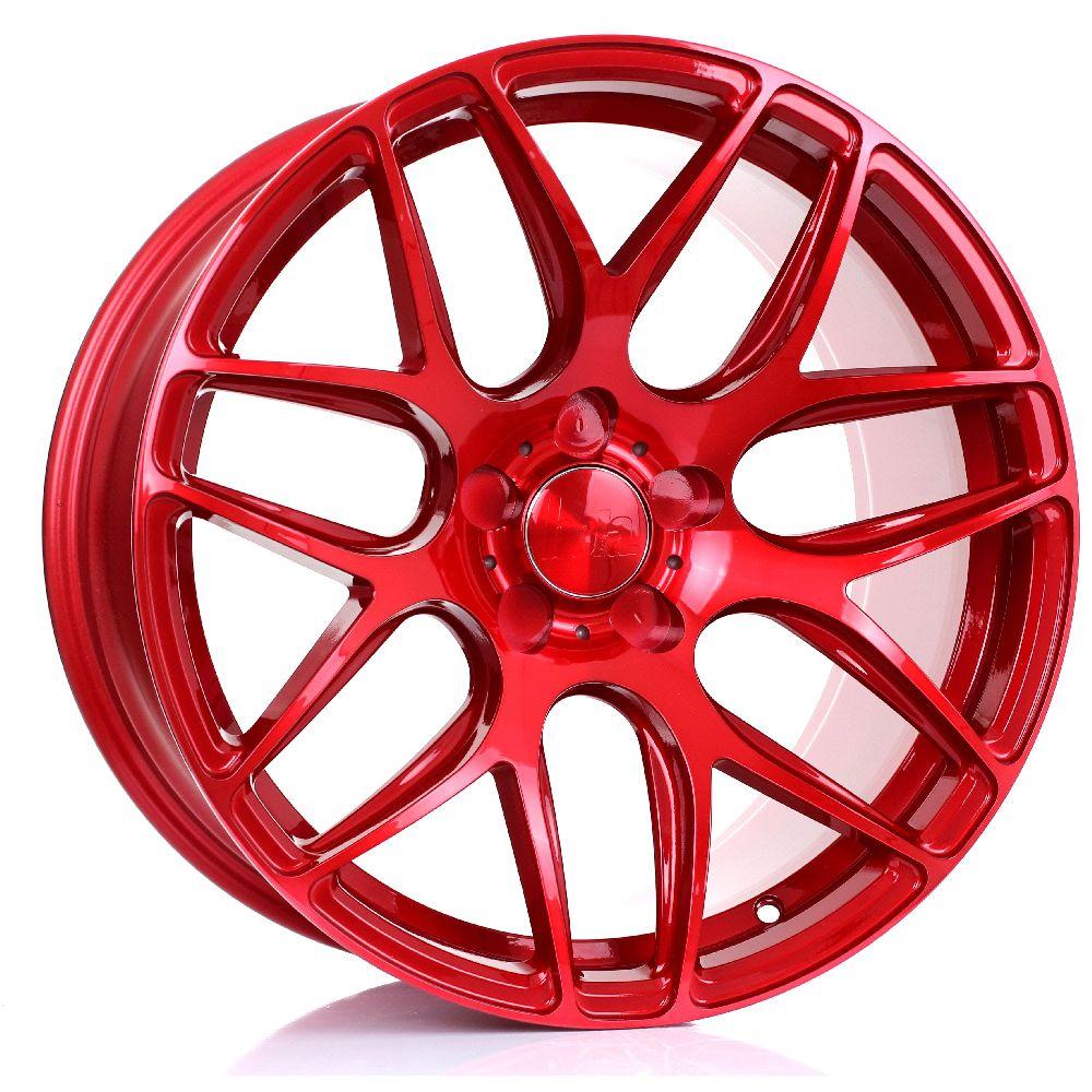 BOLA B8R hliníkové disky 9,5x18 5x108 ET40 DO 45 CANDY RED