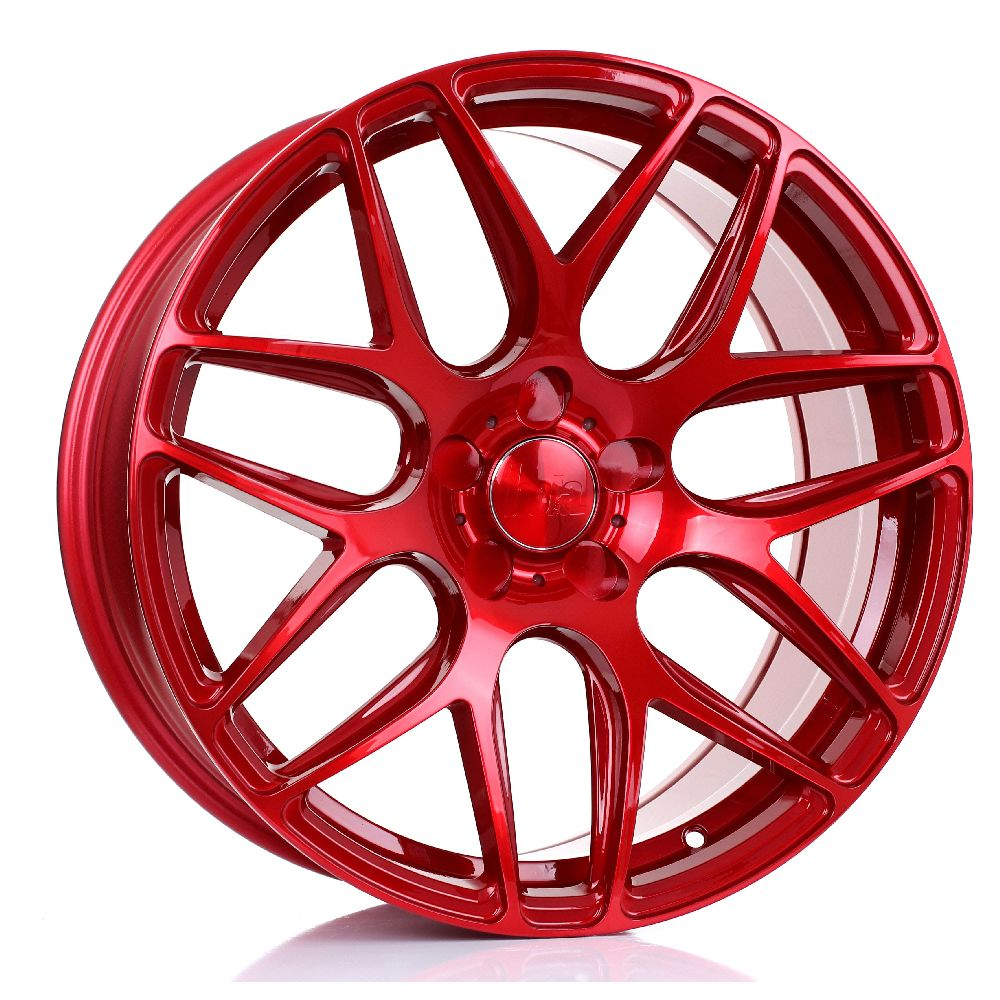 BOLA B8R hliníkové disky 8,5x19 5x110 ET25 DO 45 CANDY RED