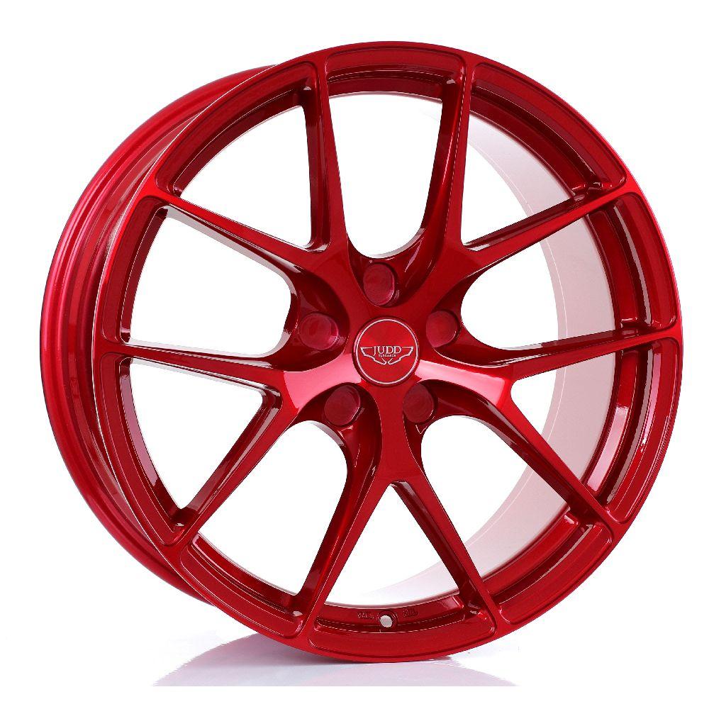 JUDD T325 hliníkové disky 8,5x19 5x112 ET20 DO 45 CANDY RED