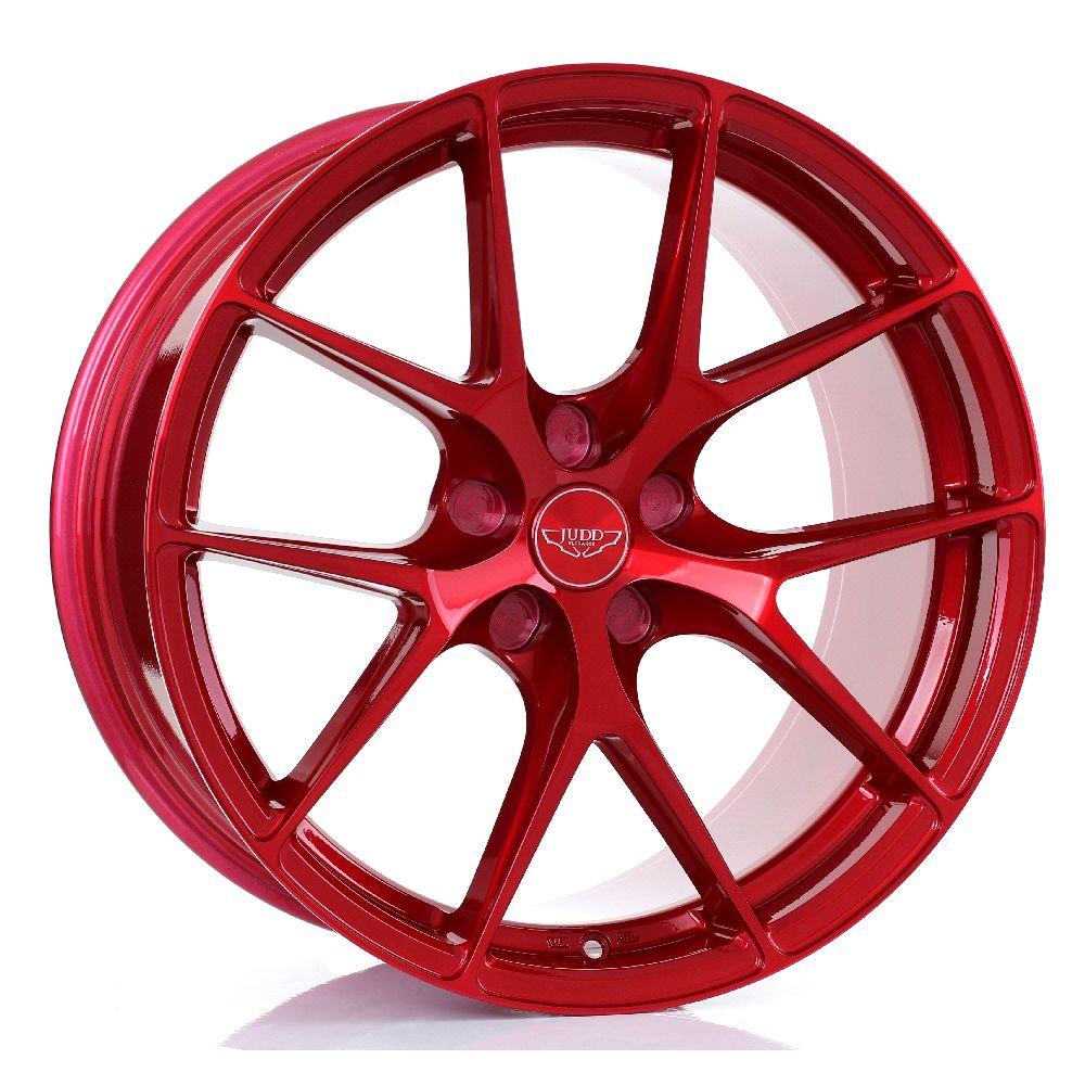 JUDD T325 hliníkové disky 9,5x19 5x112 ET20 DO 45 CANDY RED