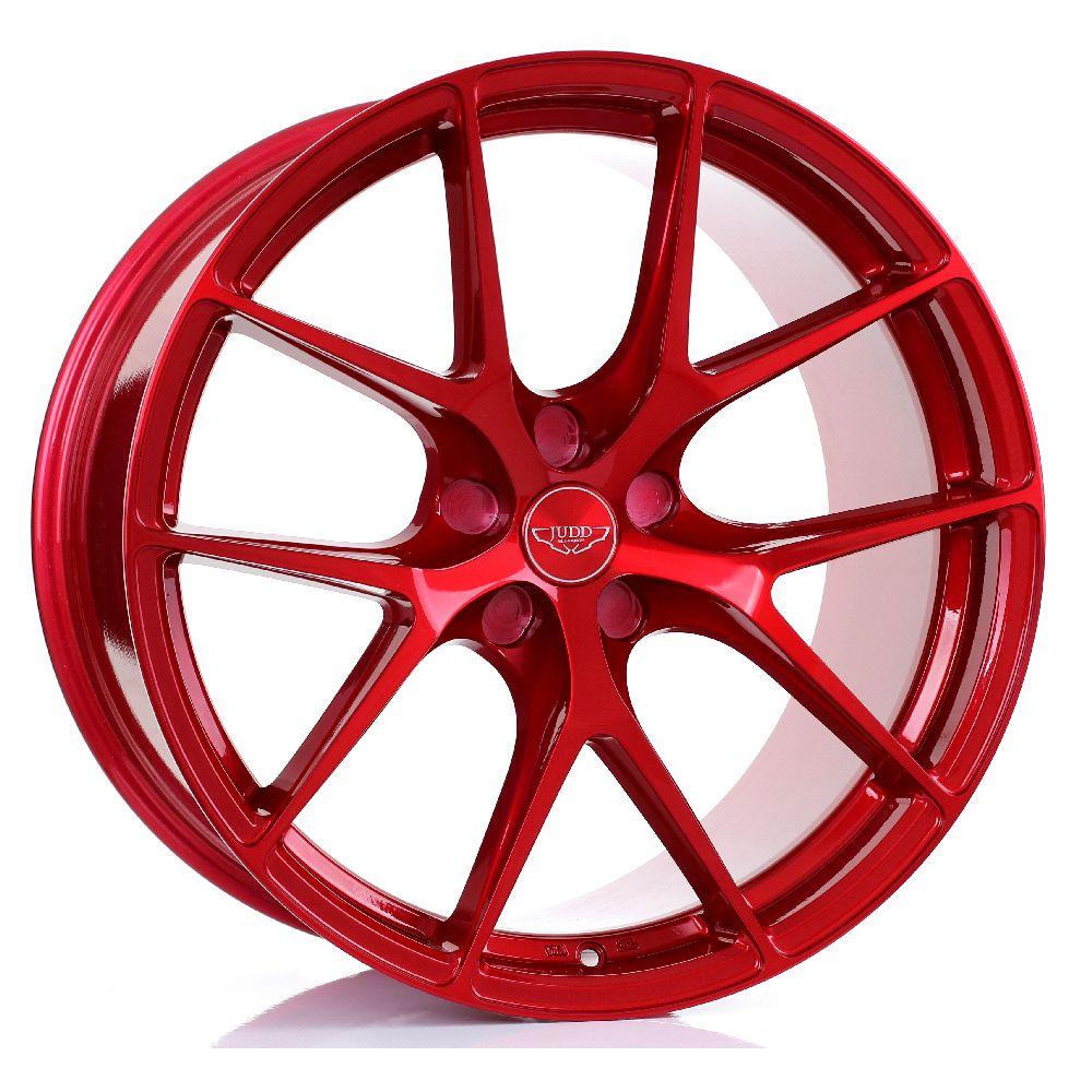 JUDD T325 hliníkové disky 10,5x20 5x110 ET20 DO 45 CANDY RED