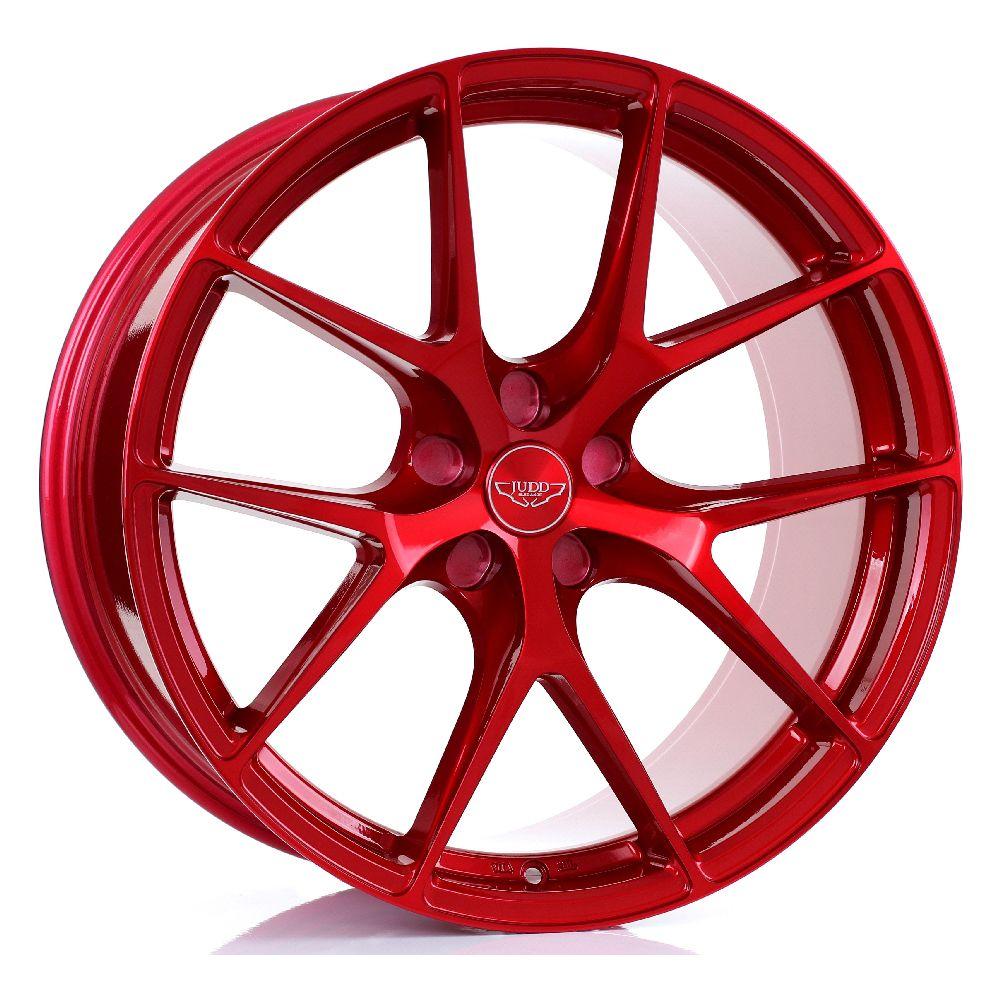 JUDD T325 hliníkové disky 10x20 5x115 ET20 DO 45 CANDY RED