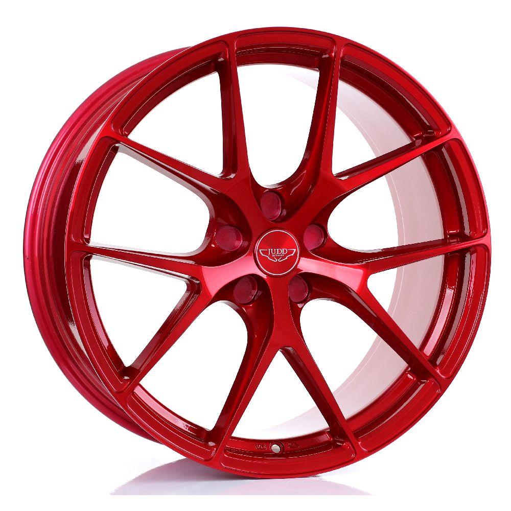 JUDD T325 hliníkové disky 9x20 5x115 ET20 DO 45 CANDY RED